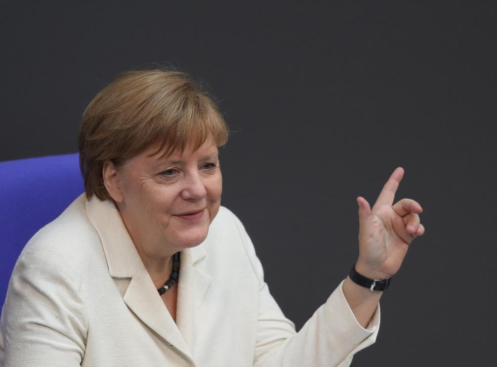Angela Merkel has enjoyed a rise in support since the Brexit vote