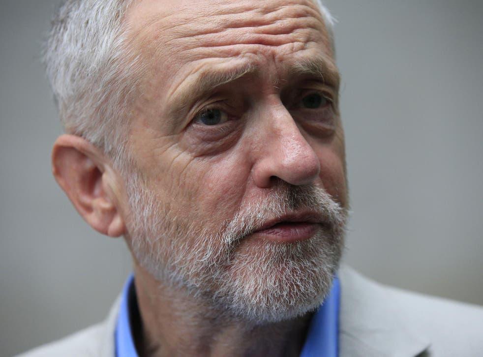 <p>Former Labour leader Jeremy Corbyn</p>
