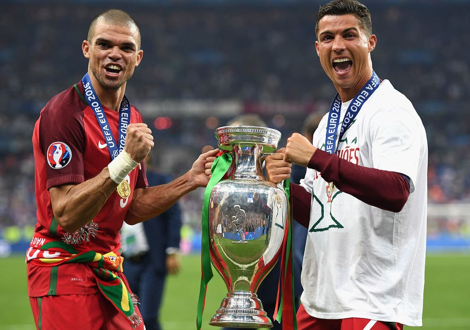 What Pepe said about Cristiano Ronaldo following Portugal s Euro ... d164e215978bc