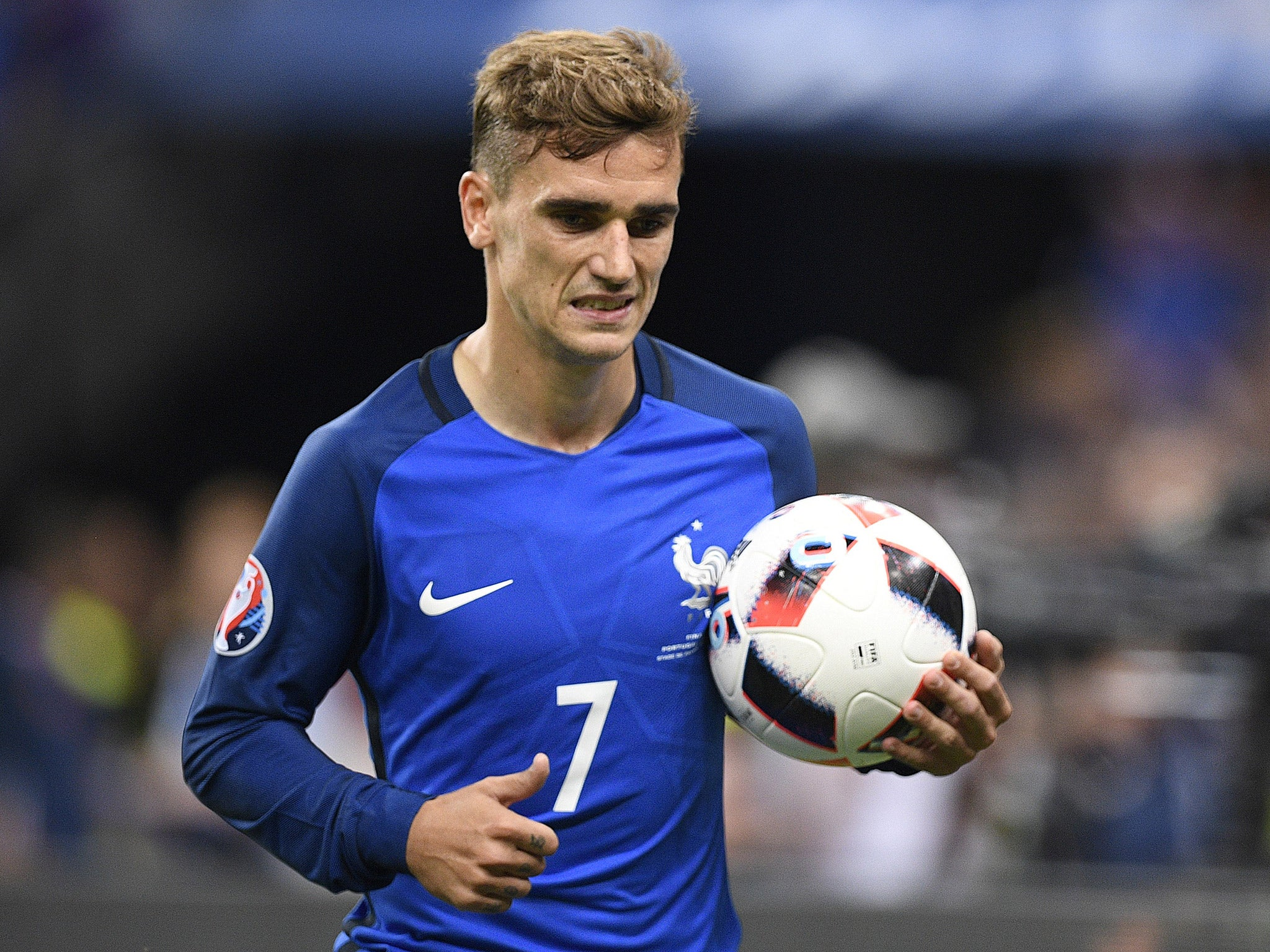 d18a2d257e788c Euro 2016  Gareth Bale snubbed from Team of the Tournament as Antoine  Griezmann named best player