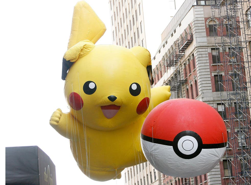Pokémon Go uses augmented reality to let players catch Pokémon from their phones in real life locations