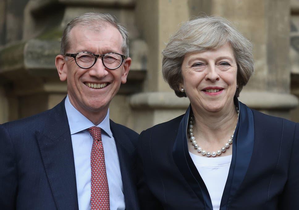 Theresa May's husband is a senior executive at a $1 4tn