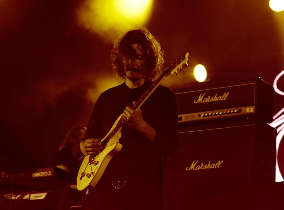 Opeth vocalist / guitarist Mikael Åkerfeldt