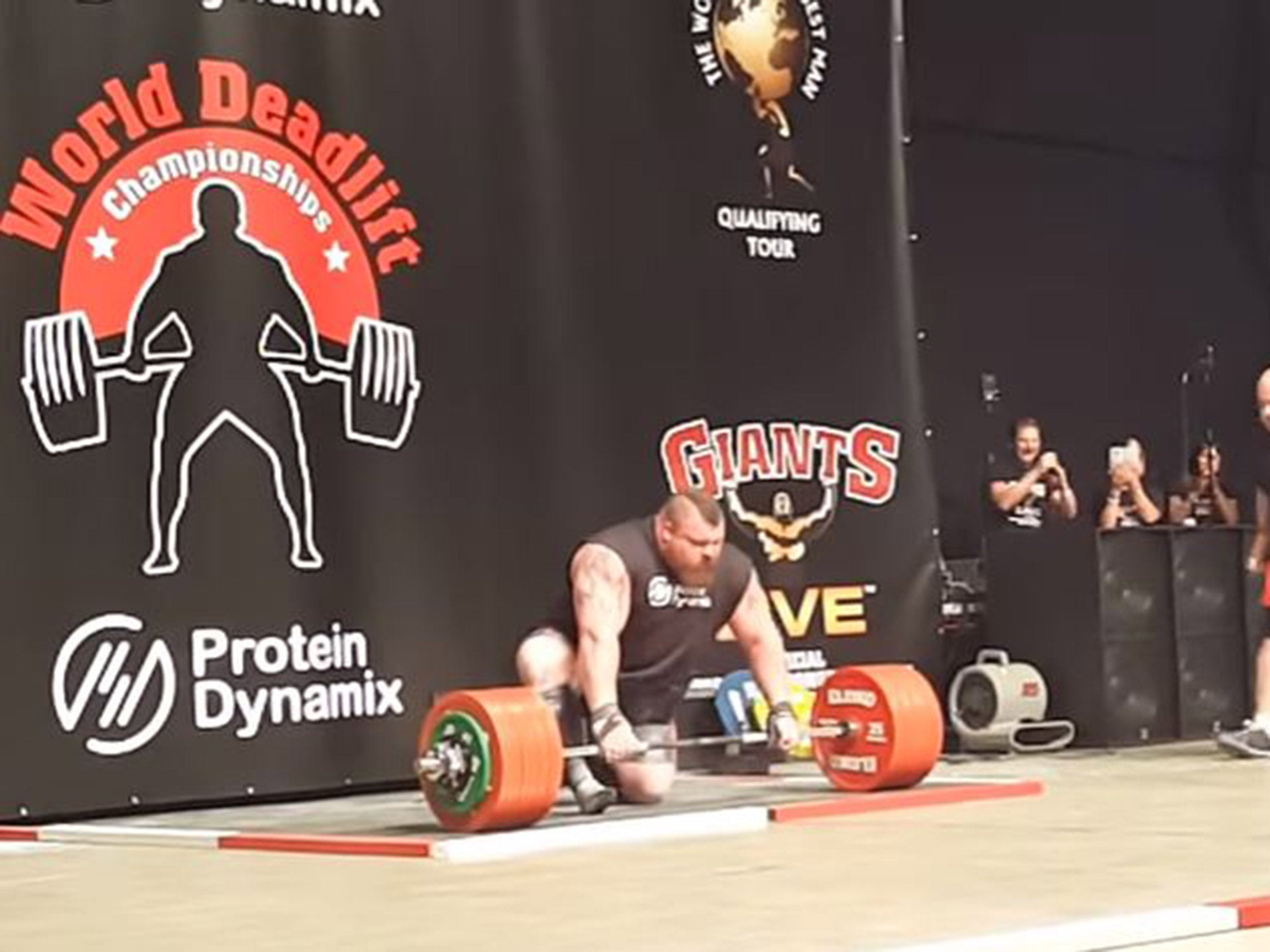 Eddie Hall nearly died after passing out following new