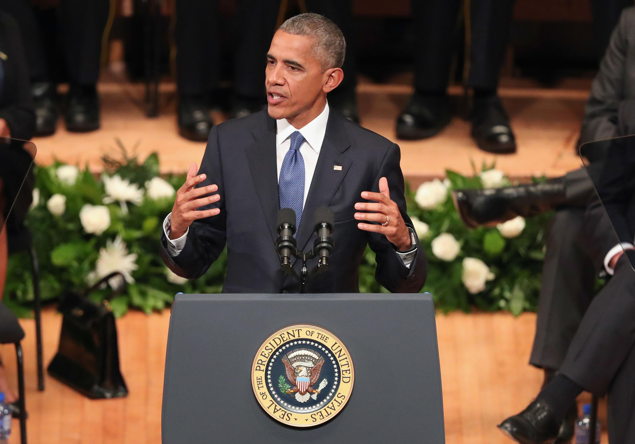 Obama says no one is 'entirely immune' to racism in wake of Dallas