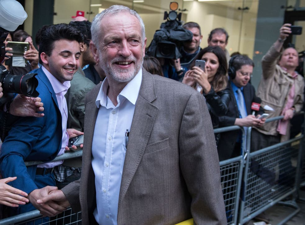 The media was biased against Mr Corbyn, the report found