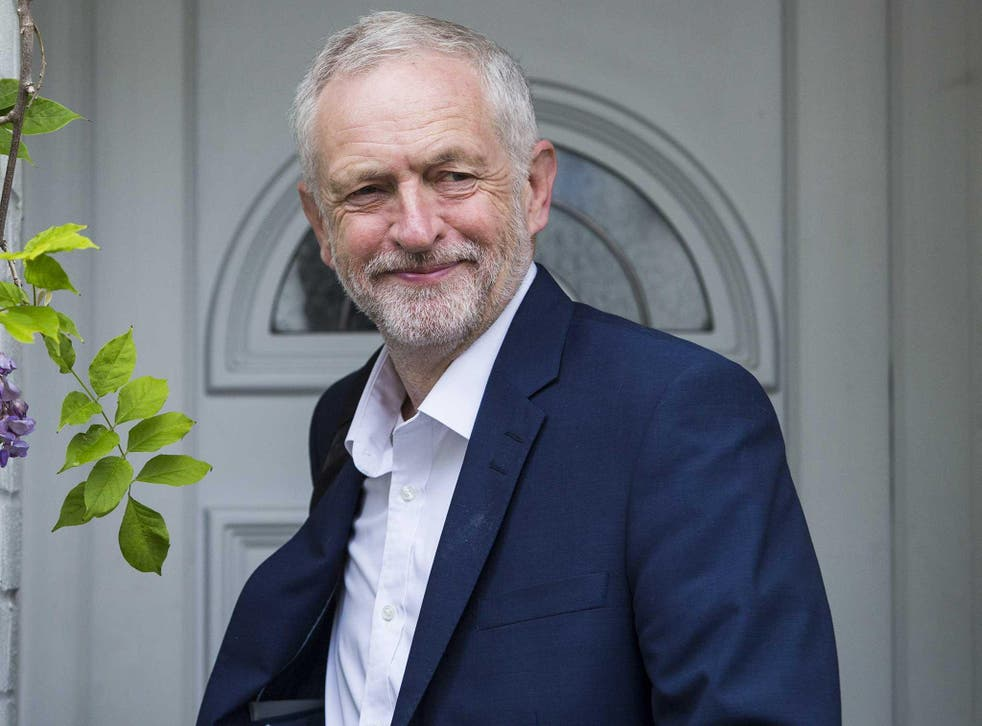 Jeremy Corbyn is confident he will be re-elected as Labour leader