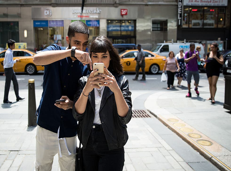 The game is getting people out the house in search of Pokemon