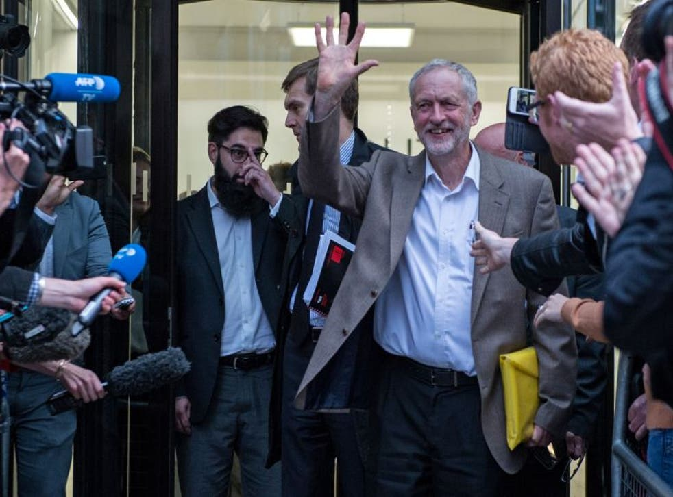 Mr Corbyn secured a place on the Labour leadership ballot after the NEC agreed he has an automatic right to tun in the contest