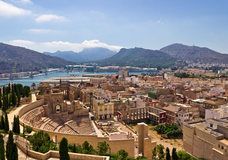 Image result for cartagena view spain
