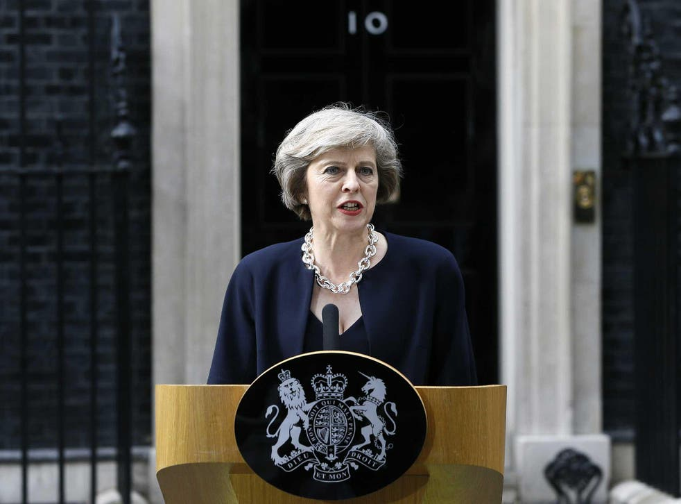 The new PM vows to 'fight against the burning injustice' that 'if you're at a state school, you're less likely to reach the top professions than if you're educated privately'