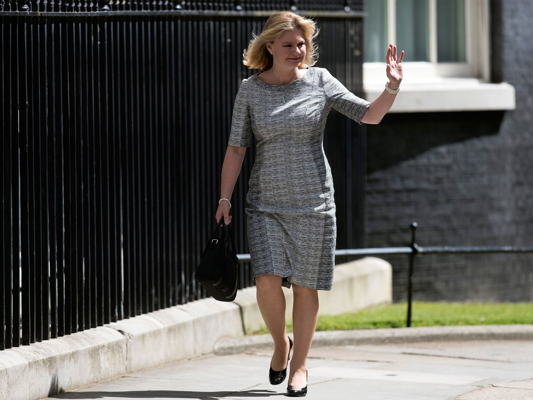 Justine Greening Becomes First Education Secretary With