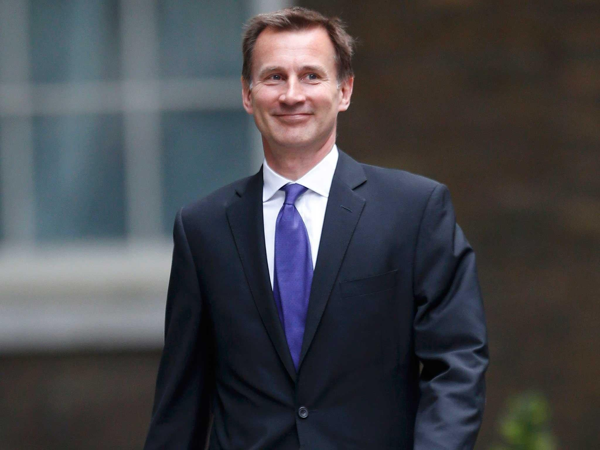 governme jeremy hunt accused - HD2048×1536