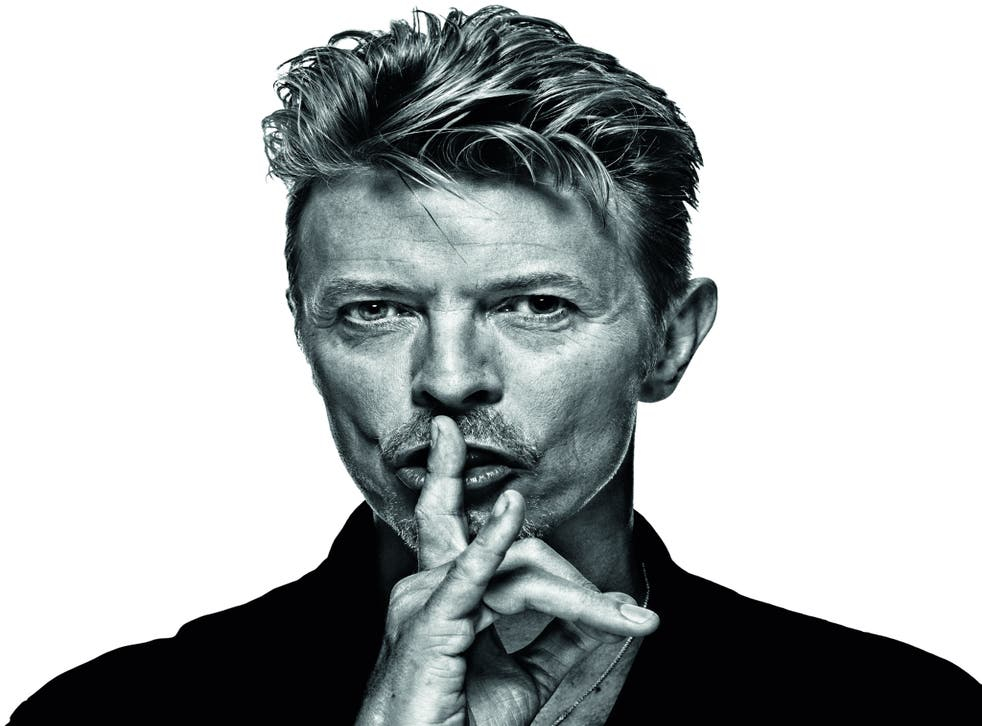 Singer and art collector David Bowie, who died earlier this year