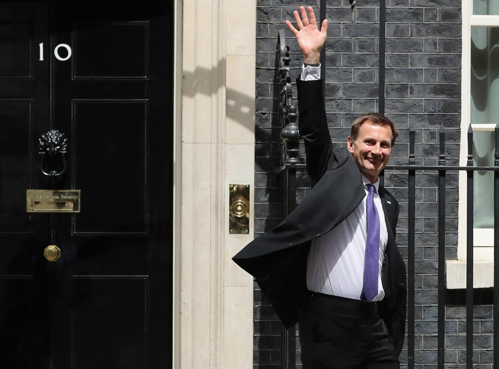Longest serving health secretary Jeremy Hunt, pictured in 2016, survived multiple reshuffles and had said this would be his last big job in politics