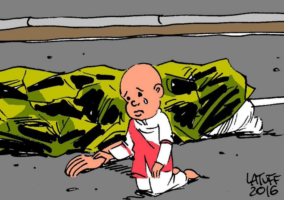 Map Of France Cartoon.Nice Terror Attack The Most Powerful Tribute Cartoons After