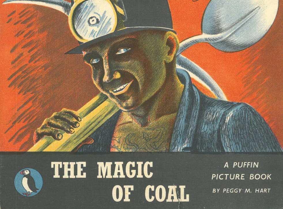'The Magic of Coal' (1945) showed miners as modern day heroes and emblems of Britain (from 'Left Out', courtesy of OUP)