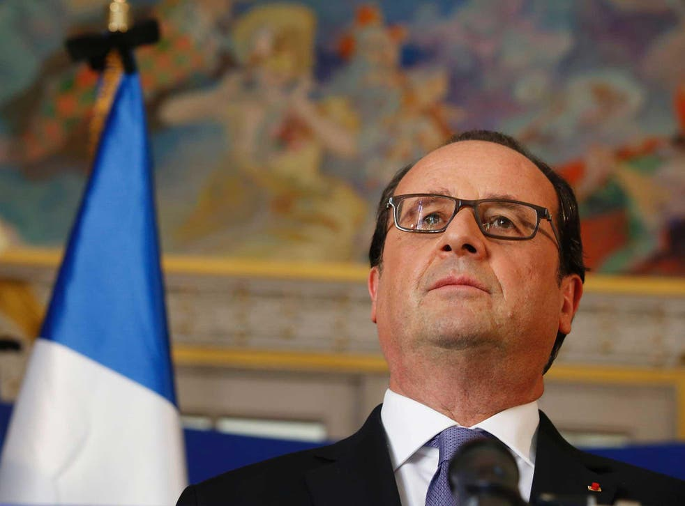 The deaths, announced by President Hollande, was the first official confirmation that French special forces are operating in Libya