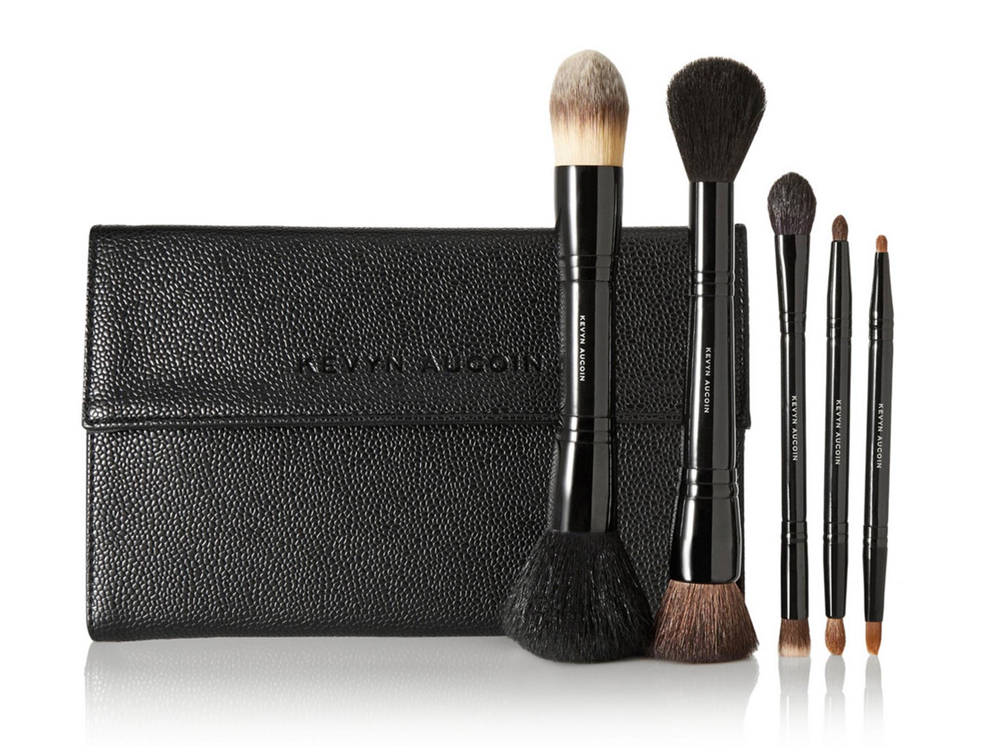 10 Best Make Up Brush Sets The Independent Zoeva Dark Brown 8 Piece Bursh Set Bag While