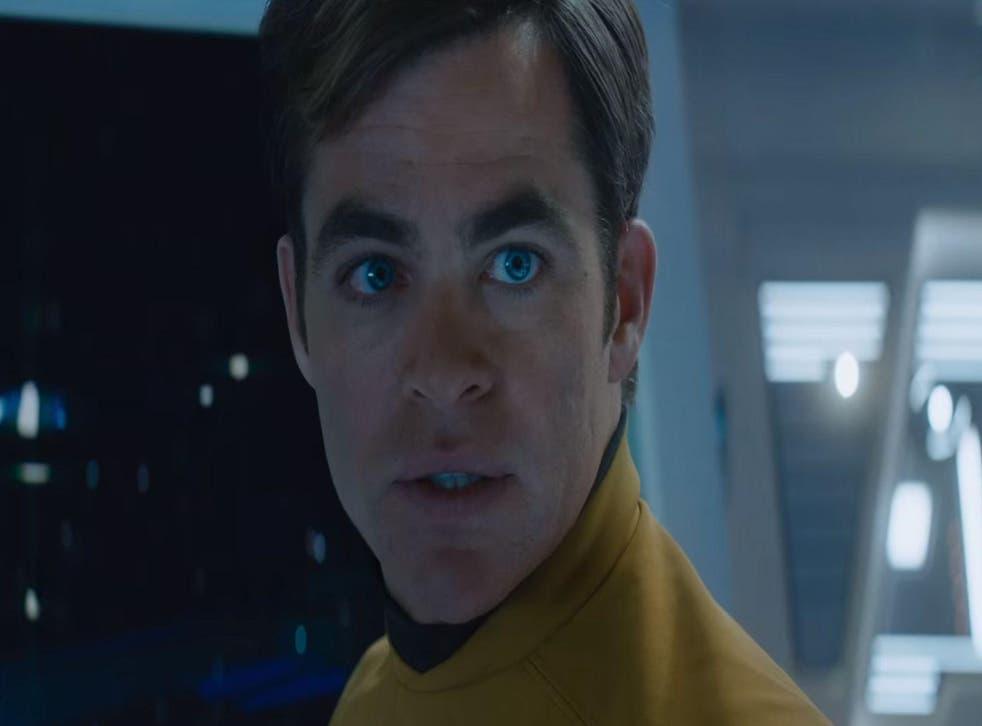 Chris Pine as Captain Kirk