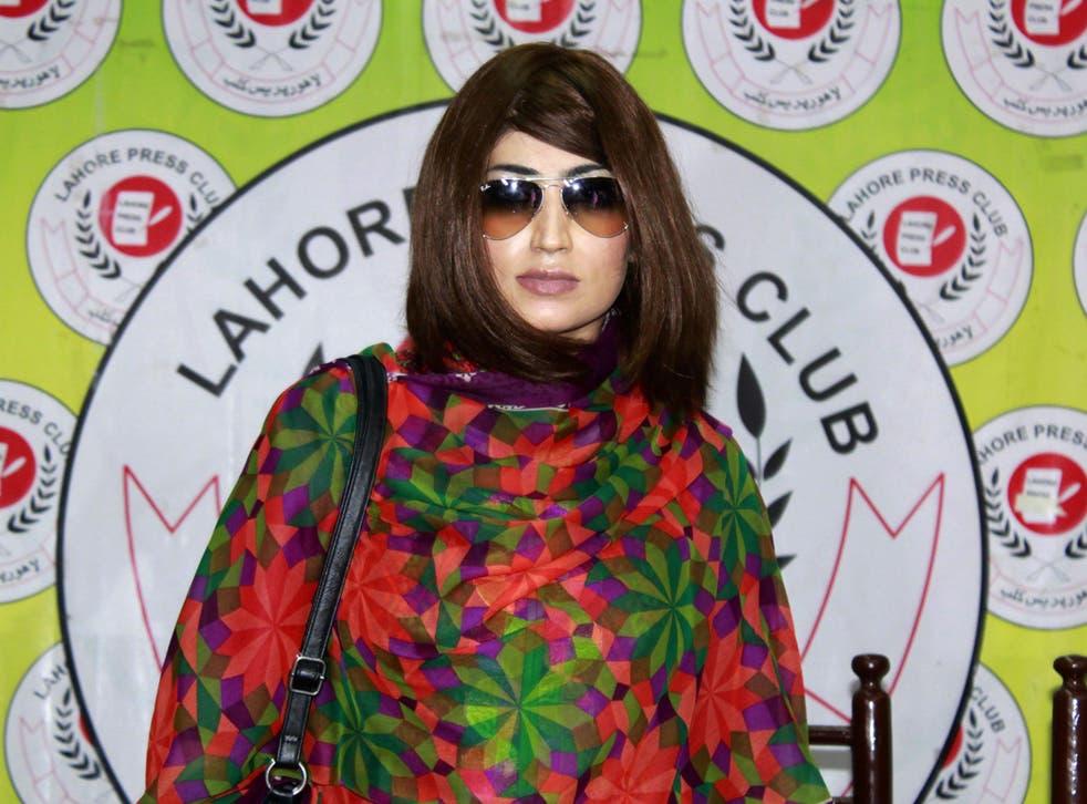 Qandeel Baloch was a social media star, model and actress