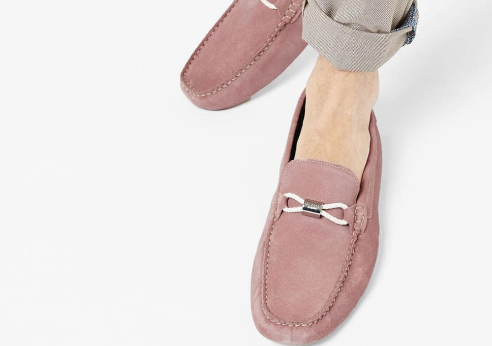 649481effa4 Ted Baker suede loafers go perfectly with some smart shorts and a  well-tailored shirt