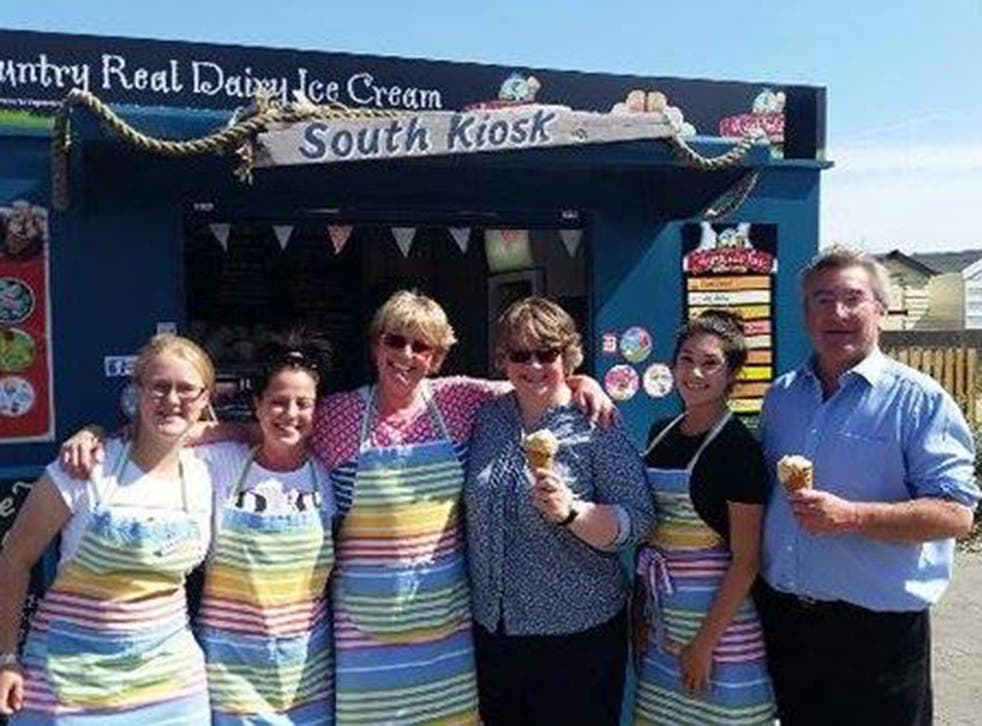 The South Kiosk cafe, which owner Kim Christofi says has been inundated with support