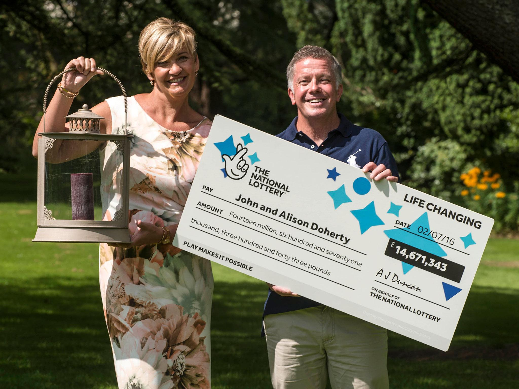 Plumber to keep job despite winning £14m with wife on Lotto 'Lucky Dip' ticket | The Independentindependent_brand_ident_LOGOUntitled