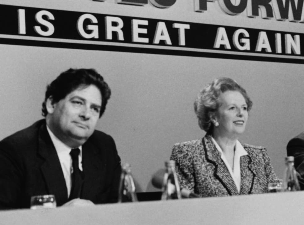 Prime Minister Margaret Thatcher and her Chancellor Nigel Lawson did not agree on membership of the ERM