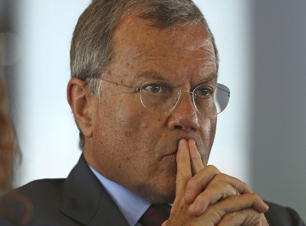 Martin Sorrell cited 'the impact of technological disruption' for the lacklustre earnings