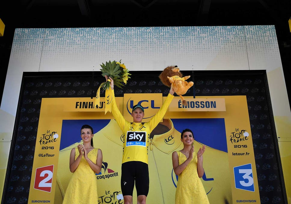 eb1512841 Tour de France  Chris Froome closing in on a third title after ...