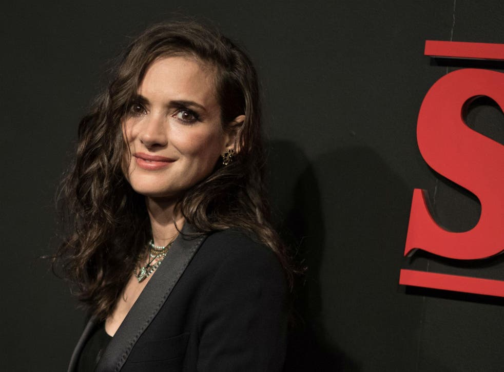 Winona Ryder at the 'Stranger Things' Netflix TV series premiere in Los Angeles