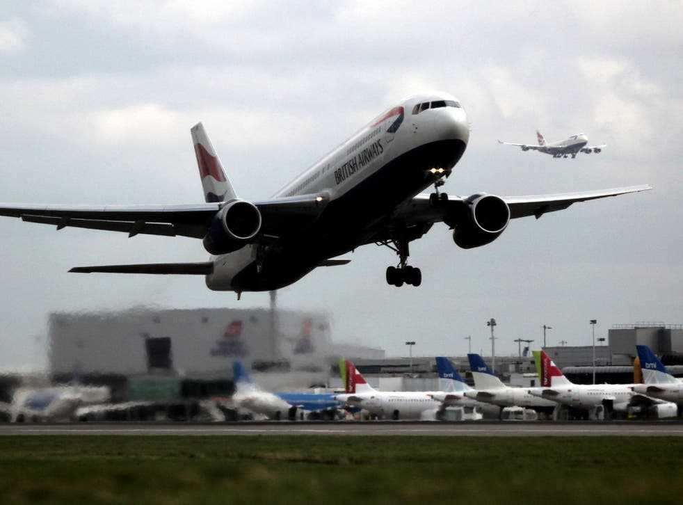 """The air traffic controller responsible for the flights """"issued avoiding action"""" to prevent a collision"""
