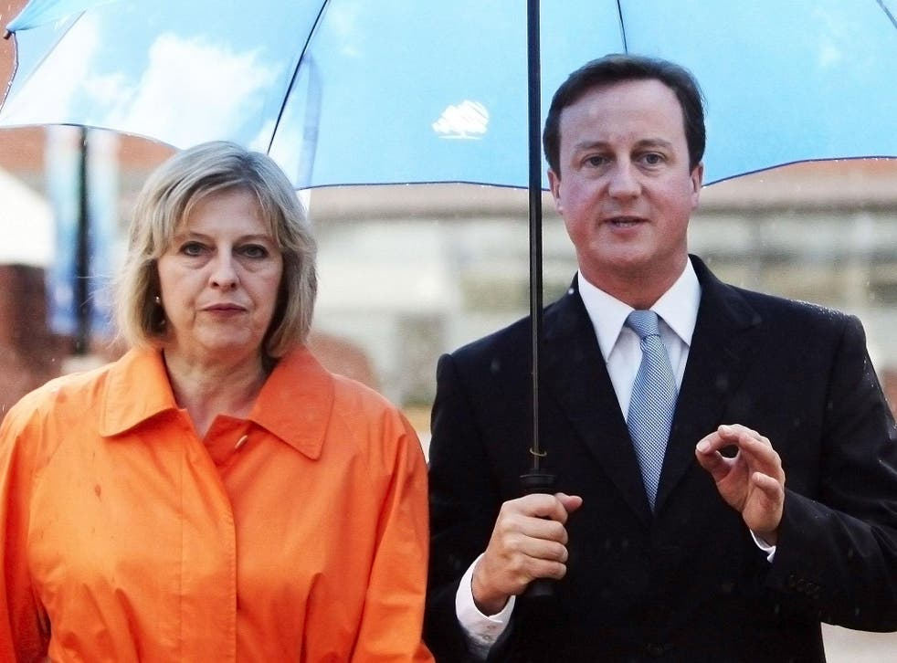 Theresa May has left David Cameron to reward his friends with honours