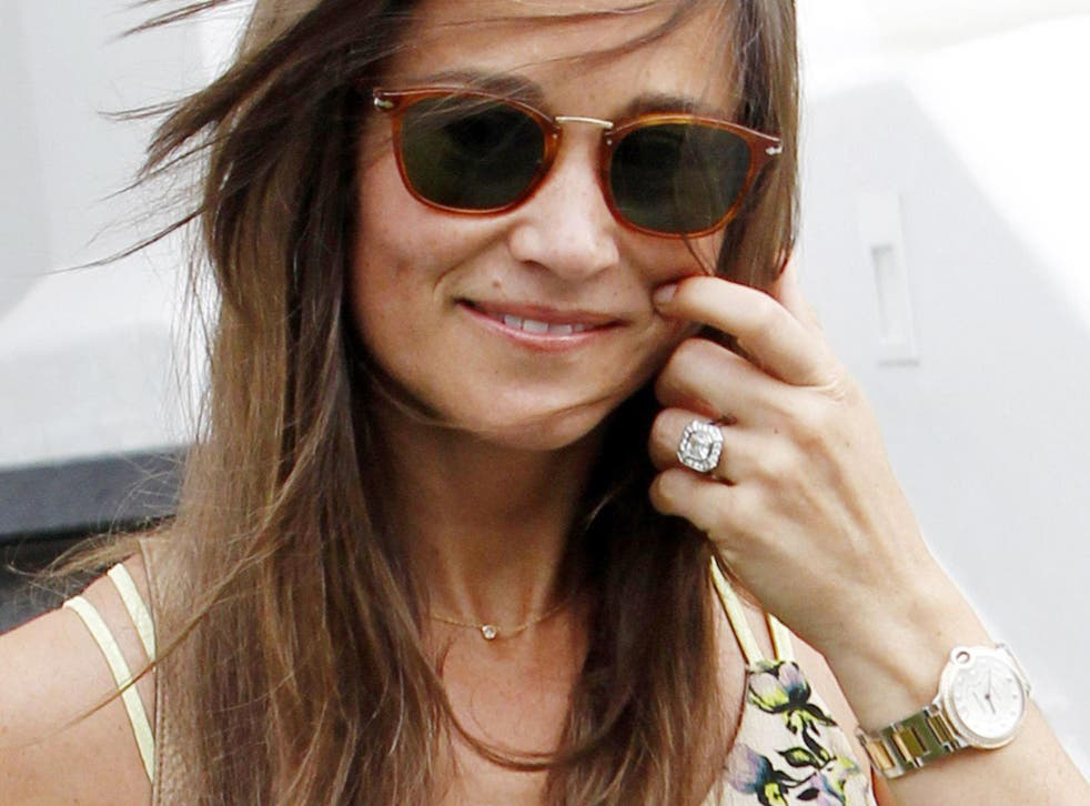 Pippa Middleton out in London 20th June 2016