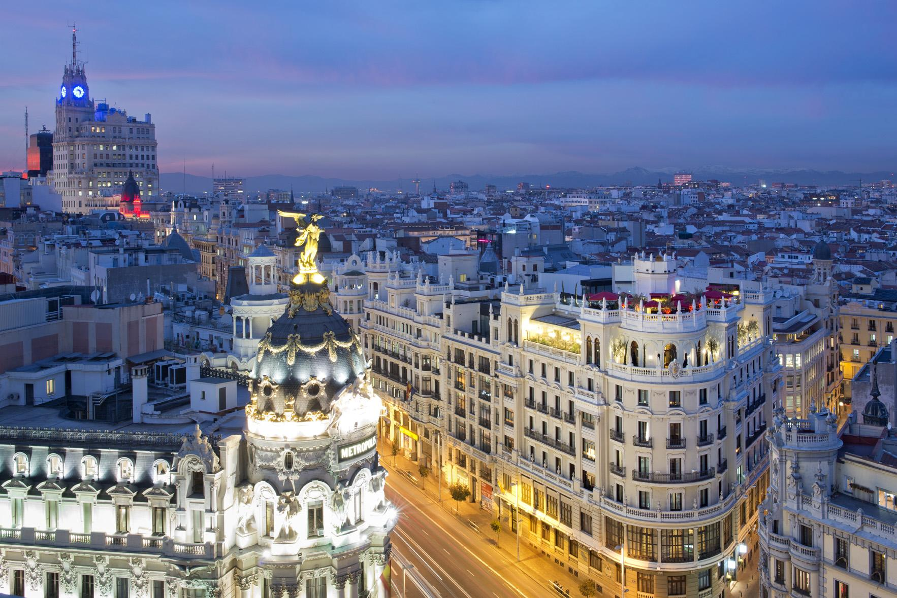 Madrid 39 s 5 best places to stay the independent for Luxury suites madrid madrid