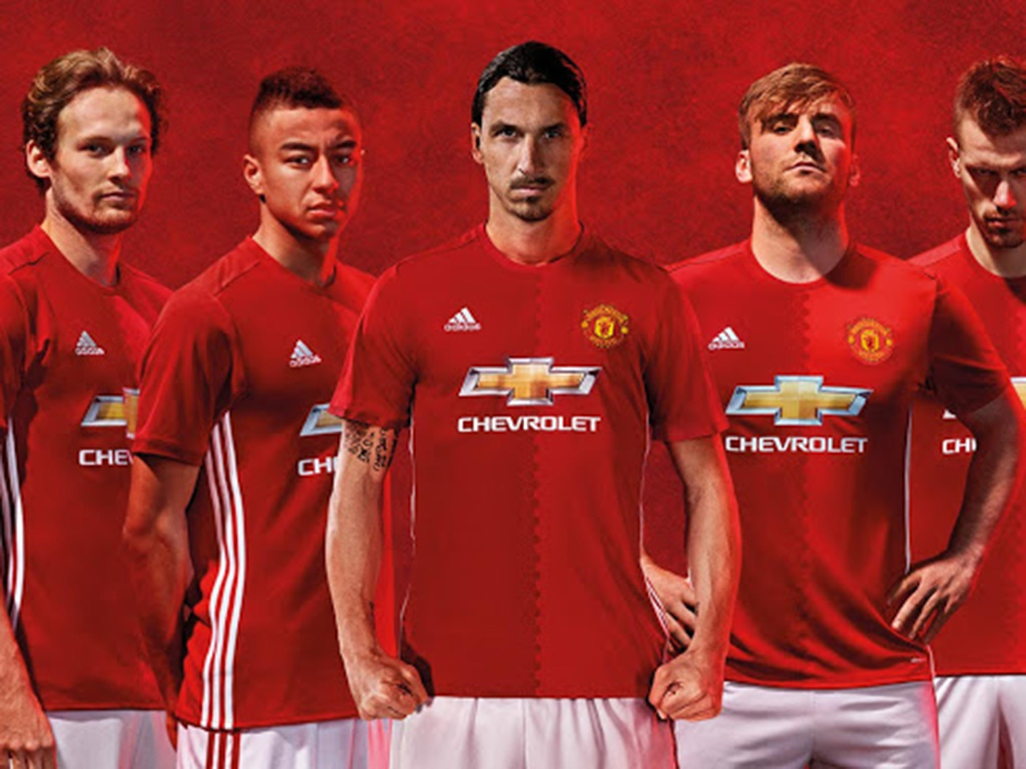f0213682a00 Manchester United new kit  2016 17 Adidas home strip officially unveiled