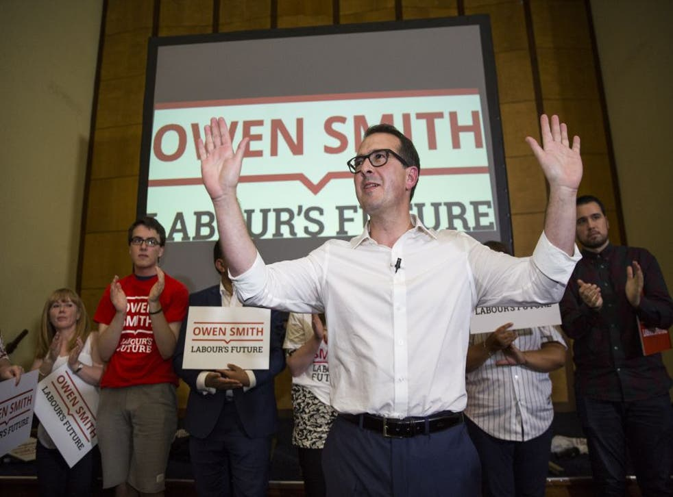 Owen Smith will pledge to ensure that half of the great offices of state are held by women