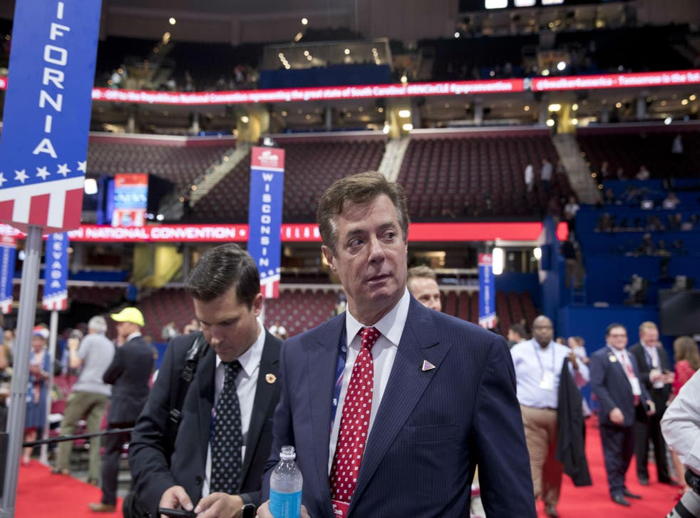 Paul Manafort is under investigation by several government agencies for his ties to Ukraine president Viktor Yanukovych