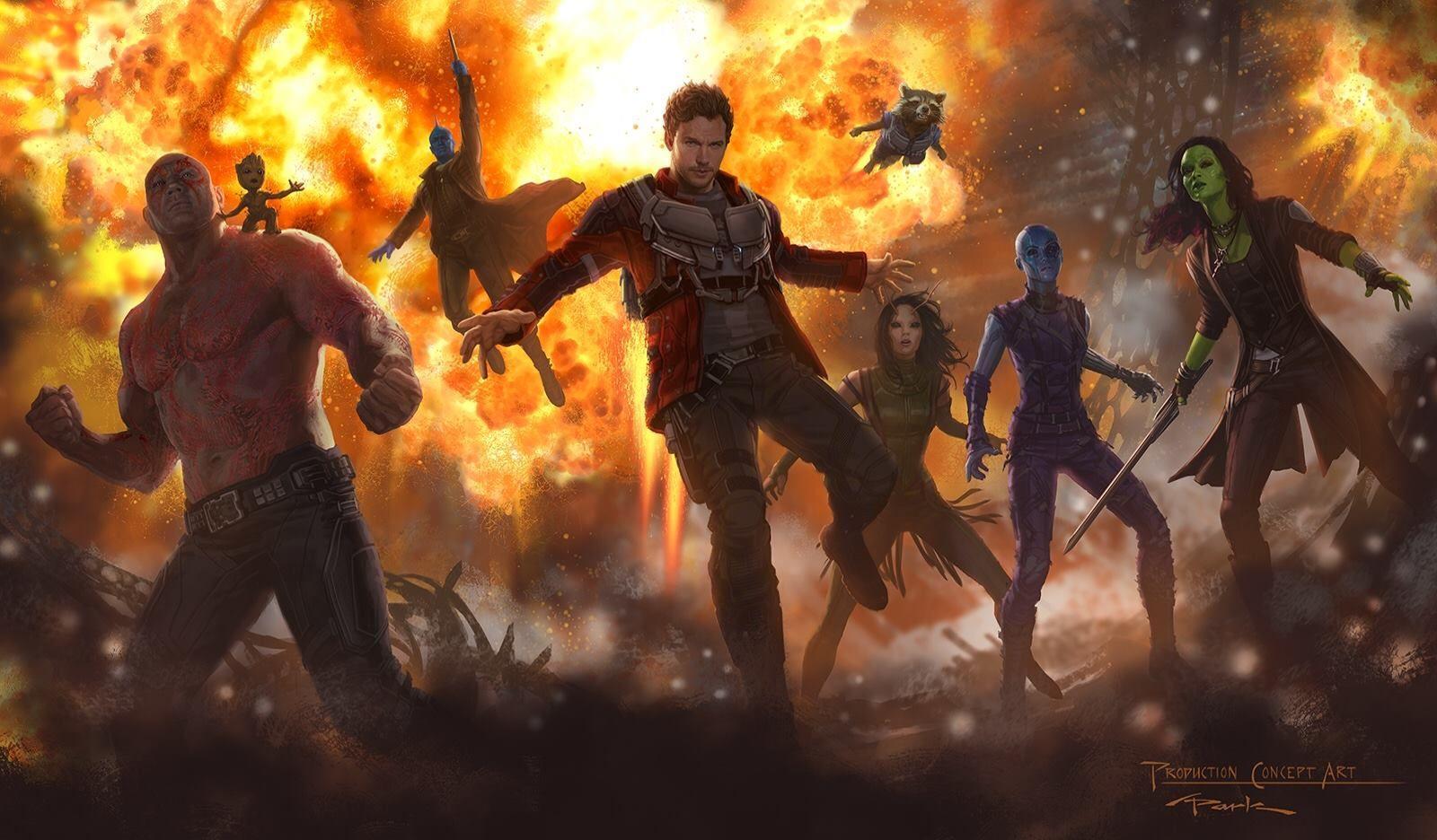 The Guardians of the Galaxy Vol 2 Tayang Perdana