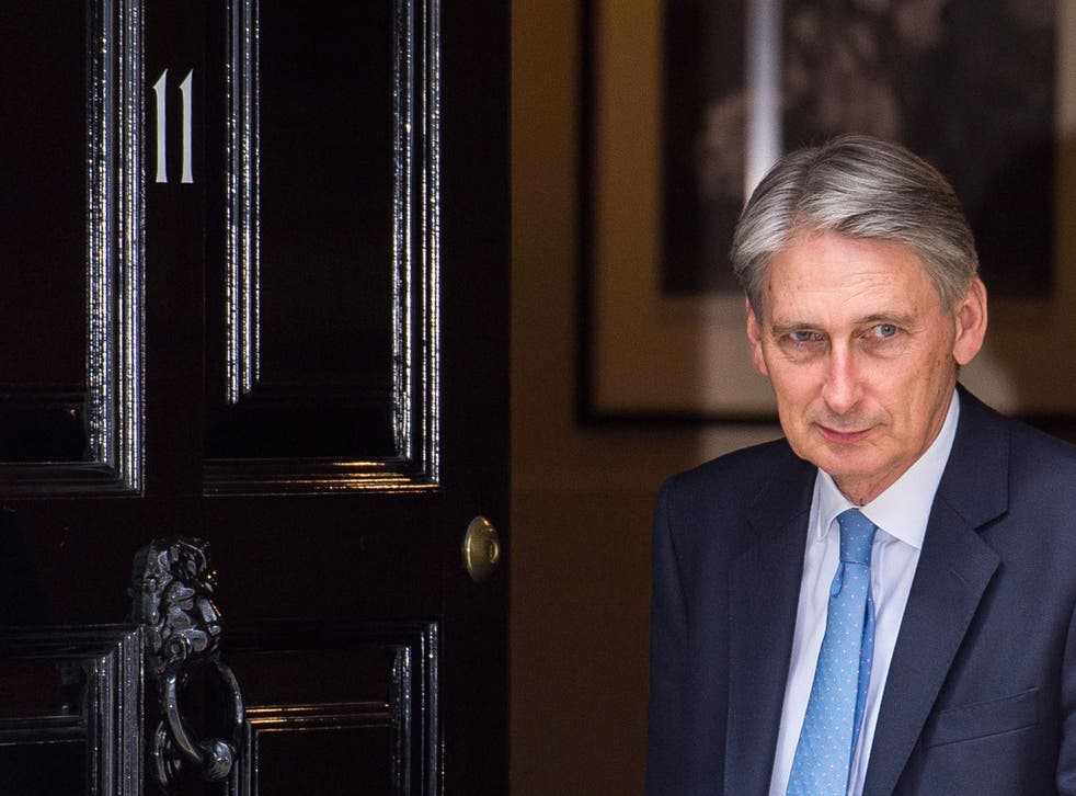 This was Philip Hammond's first meeting with financial leaders as Chancellor