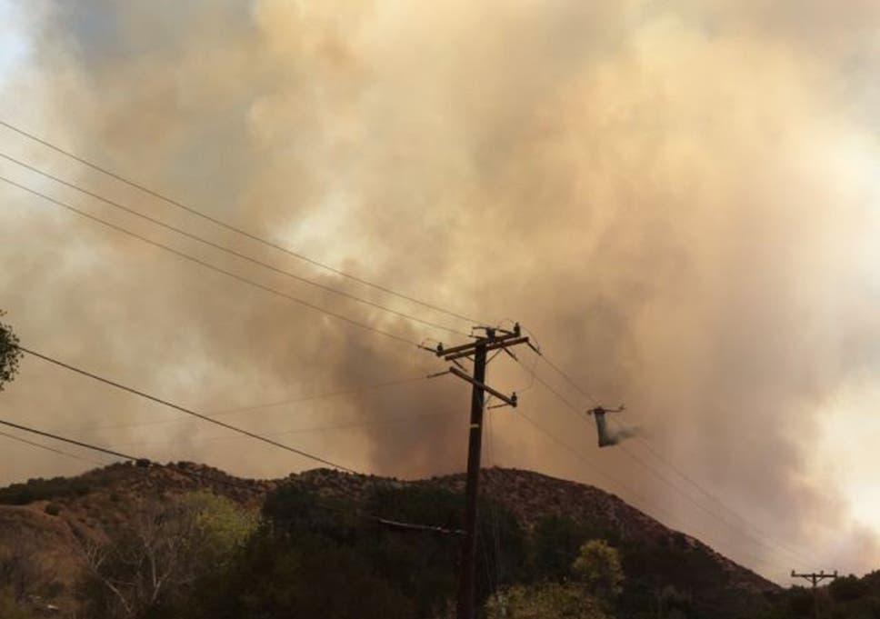 Santa Clarita fire: Dead body found in burned car as