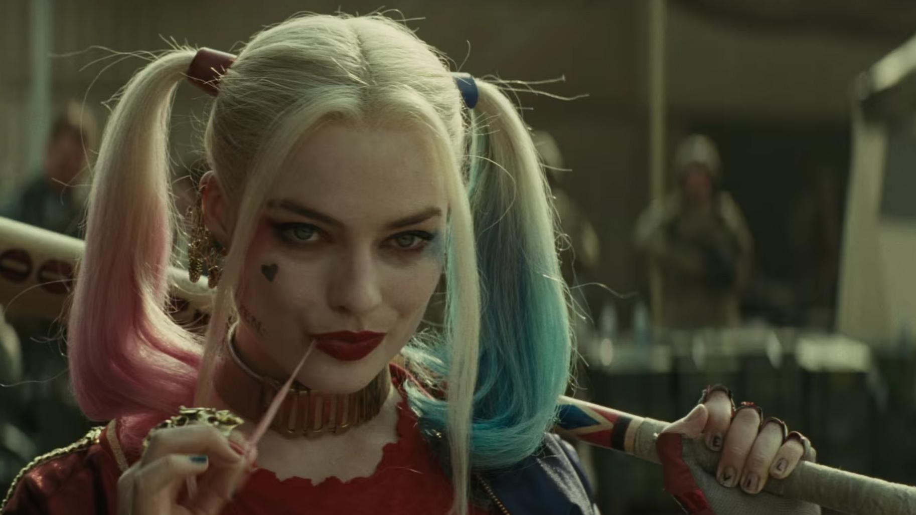 Image result for suicide squad robbie harley quinn
