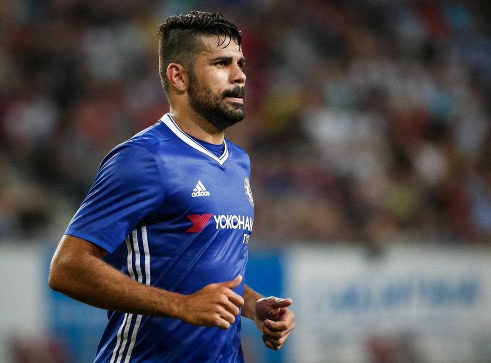 Diego Costa is subject to an offer from Atletico Madrid