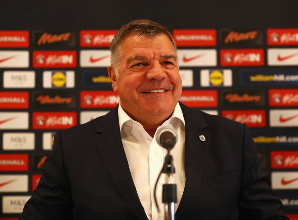 Sam Allardyce holds his first press conference as England manager