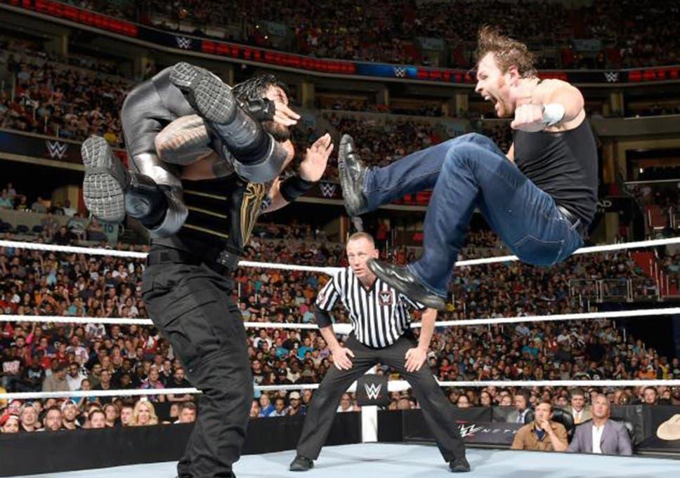 Dean Ambrose Vs Seth Rollins Vs Roman Reigns Battleground