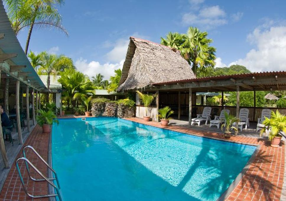 Tropical island resort in Micronesia raffled off by