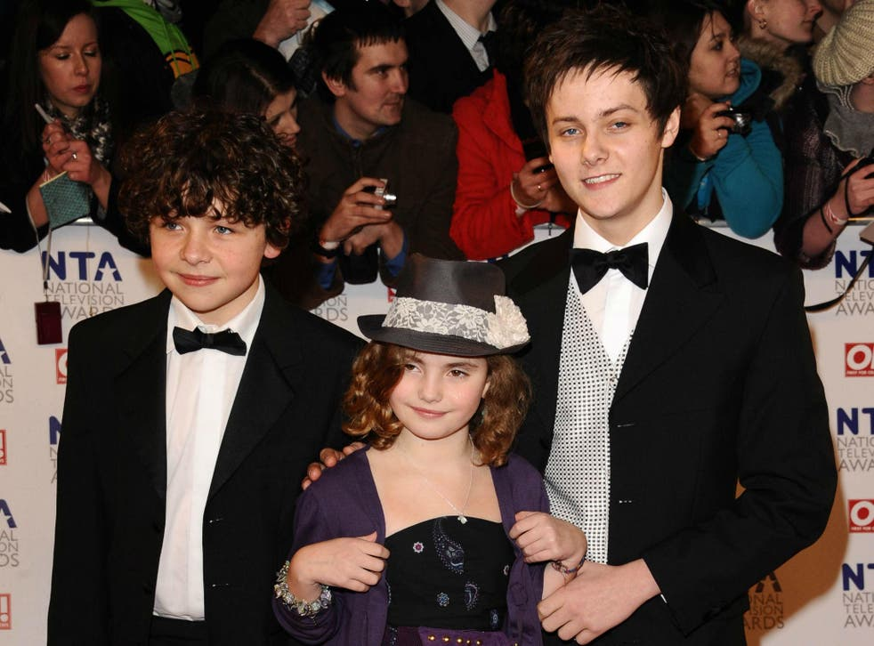 From Left to Right: Daniel Roche, Ramona Marquez and Tyger Drew-Honey in 2011