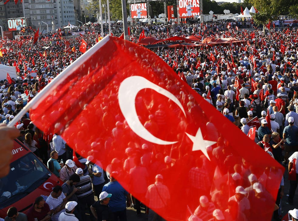 Thousands have taken to the streets to support President Erdogan and his government in recent days