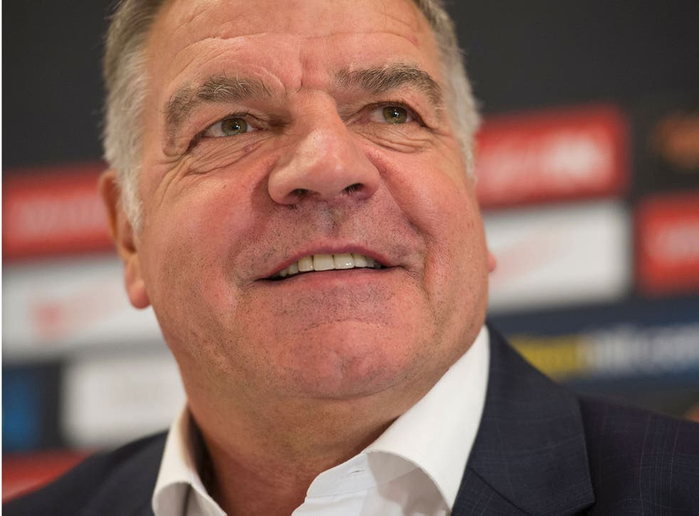 Sam Allardyce was confirmed as the England manager on Monday